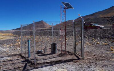 Instalacion de Lisímetros en Copiapó