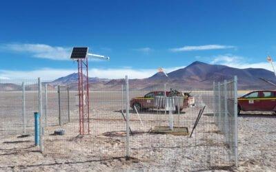 Instalación y Mantención de Estaciones Meteorológicas